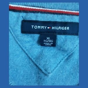 Tommy Hilfiger Sweaters - Tommy Hilfiger Blue Argyle Sweater